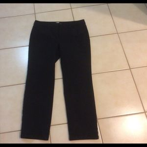Women's Talbots Signature Casual Ankle Pants Black